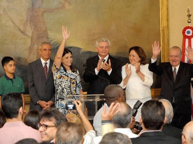 Roseana Sarney deixa cargo de governadora do Maranhão (Foto: Divulgação/Agência Assembleia)