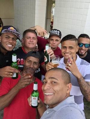 Festa Pará, Anderson Pico, Everton, Marcelo Cirino e Paulinho (Foto: Divulgação)