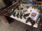 Doze suspeitos de praticar 30 assaltos no Agreste são detidos com armas