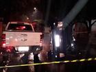 Motorista tomba carro ao perder  controle da direção em Votuporanga