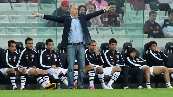 mano menezes Atlético-PR x Corinthians (Foto: Getty Images)