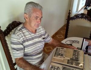 José Aguinaldo Geraldo ex-jogador Araxá Esporte  (Foto: Maritza Borges)