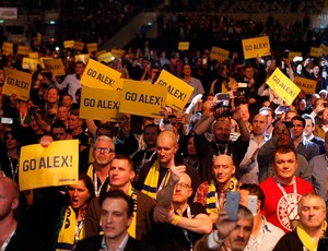 Torcida presente à Tele2 Arena UFC Estocolmo (Foto: Getty Images)