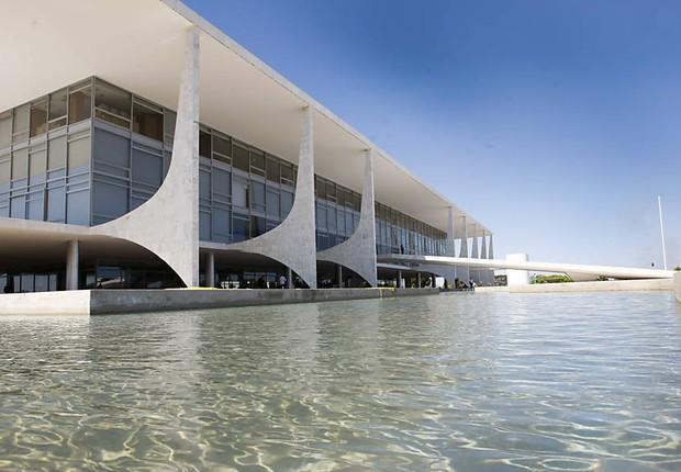 Palácio do Planalto em Brasília: sede da presidência (Foto: Wikimedia Commons/Wikipedia)