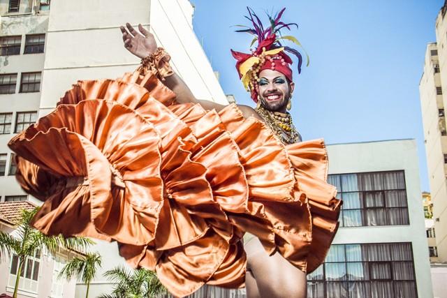 """""""Gostam mais da minha bunda do que de mim"""", cita Bruno (Foto: Foto: Jorge Badaue)"""
