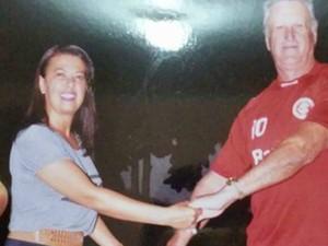 Casal vivia em Rio Branco há 11 anos; carreteiro morreu no hospital em Rio Branco  (Foto: Arquivo da família)
