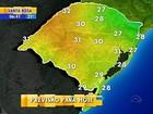 RS amanhece com tempo seco e terá temperaturas amenas durante o dia