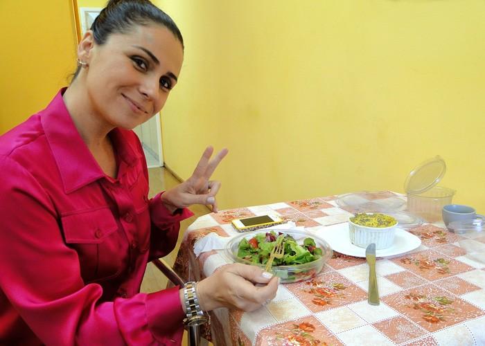 Giovanna Antonelli detox (Foto: Mais Você / TV Globo)