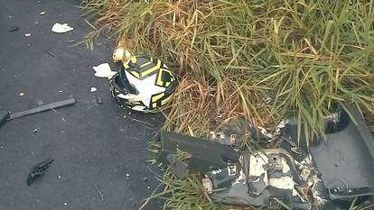 Policial militar morre em acidente entre moto e carreta em Echaporã