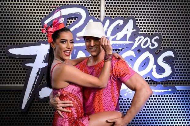 Maria Joana e Reginaldo Sama na Dança dos Famosos (Foto: Globo/Ramón Vasconcelos)