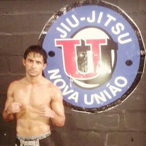 Weslle treina com a Nova União, junto com o irmão, que também pratica MMA (Foto: Weslle Pereira/Arquivo Pessoal)
