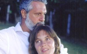Antonio Fagundes e Adriana Esteves em Renascer