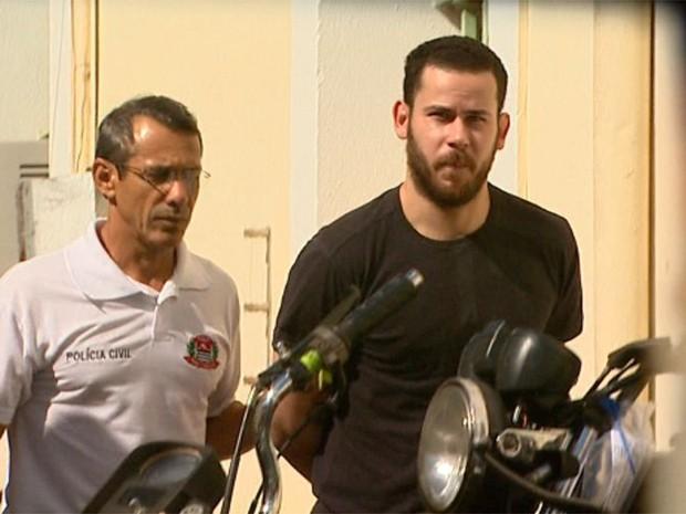 Padrasto de Joaquim está preso desde que o corpo do menino foi achado no Rio Pardo (Foto: Reprodução/EPTV)