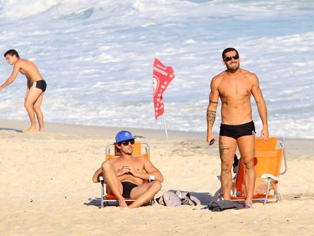 Ex-bbb Yuri Fernandes  (Foto: Henrique Oliveira / FotoRioNews)