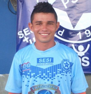 Luís Jorge, lateral-esquerdo do Parnahyba (Foto: Glaúcio Júnior)