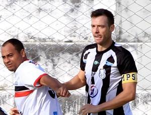 Tiago Sala, zagueiro do Treze (Foto: Nelsina Vitorino / Jornal da Paraíba)