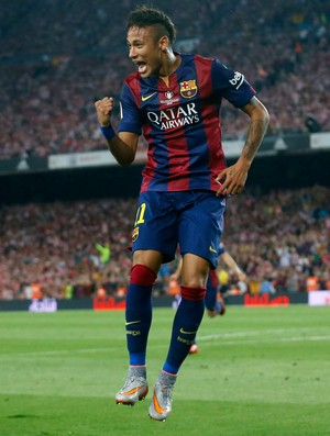 Neymar gol Barcelona Athletic Bilbao (Foto: Reuters)