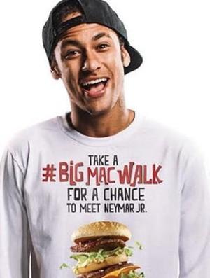 Neymar campanha (Foto: Reprodução)
