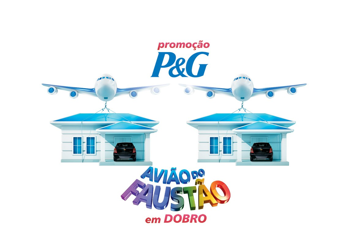 Avião do Faustão 5 (Foto: Domingão do Faustão/ TV Globo)