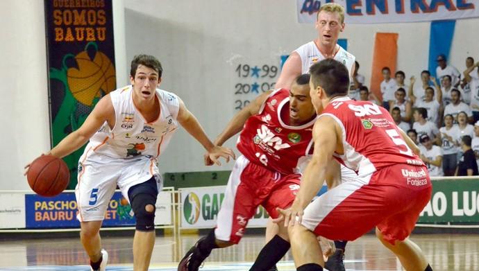 Bauru Basquete x Basquete Cearense, Ricardo Fischer, pelo NBB 6 (Foto: Caio Casagrande / Bauru Basket)