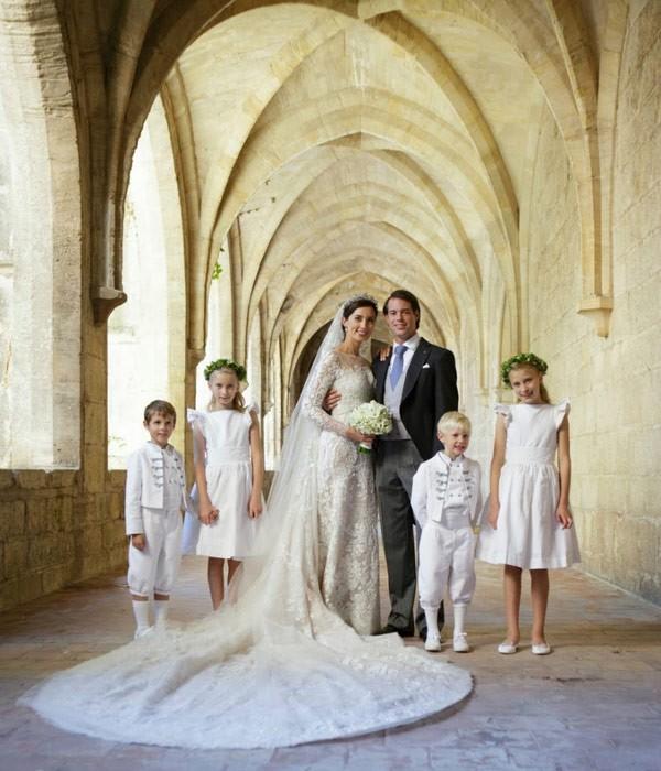 Casamento do príncipe Felix de Luxemburgo e Claire Lademacher  (Foto: Reprodução )