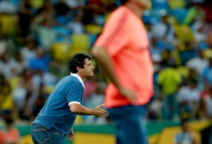 Adilson Batista Vasco e Fluminense (Foto: Pedro Kirilos / Agência O Globo)