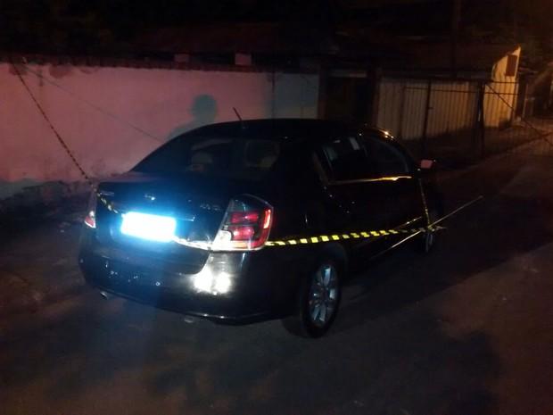 Suspeito de matar oficial da Marinha roubou carro da vítima (Foto: Divulgação/Polícia Militar)