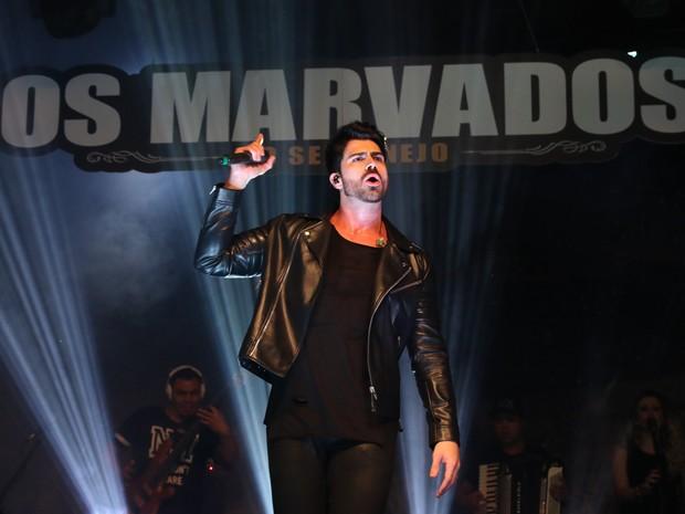Rodrigão em show em São Paulo (Foto: Thiago Duran/ Ag. News)