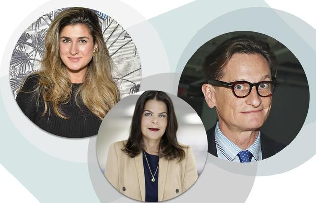 Barbara Migliori, Daniela Falcão e Hamish Bowles (Foto: Arte Vogue Online)