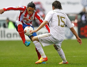 Atletico de Madri x Real Madrid (Foto: Agência EFE)