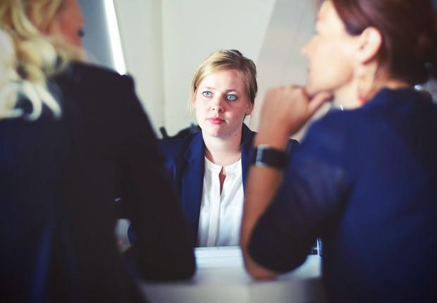 entrevista de emprego, reunião, profissional (Foto: Pexels)