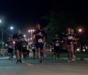 Corrida do Advogado reúne mais de mil corredores em Palmas (Foto: Reprodução/TV Anhanguera)