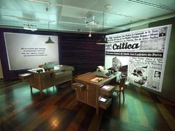 Exposição reúne acervos, jornais, pôsteres, revistas, entrevistas – sonoras, visuais e impressas. (Foto: Ivson / Divulgação)