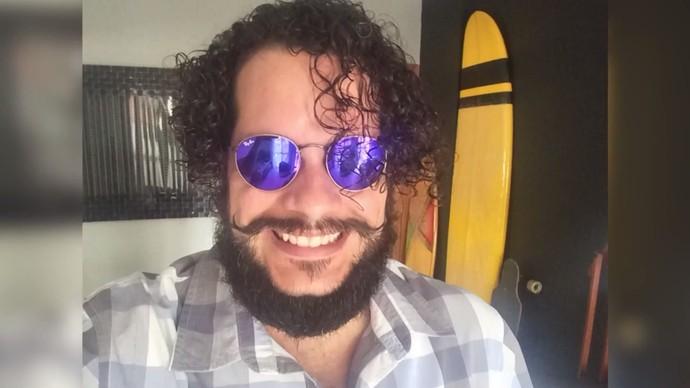 O diretor Fábio Vaz cria a barba há mais de três meses (Foto: Divulgação)