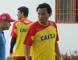 Gilmar - atacante do América-RN (Foto: Canindé Pereira/Divulgação)