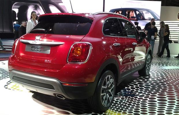Fiat 500X (Foto: Tereza Consiglio/ Autoesporte)