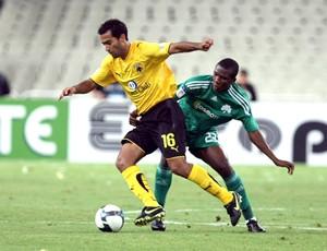Roger Guerreiro AEK (Foto: Site Oficial do Clube)