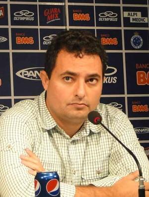 Alexandre Mattos, Cruzeiro (Foto: Ana Paula Moreira / Globoesporte.com)
