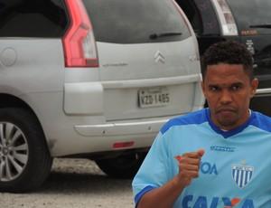márcio diogo, meia, atacante, avaí (Foto: Marcelo Silva)