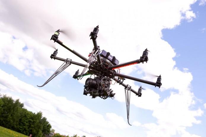 Drones poderão ser usados em estúdios para gravar filmes (foto: Reprodução/Digital Trends)