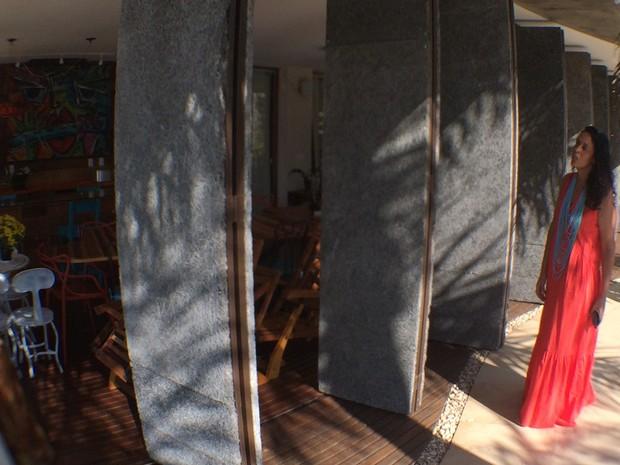 Casa de arquiteta tem vários itens de sustentabilidade, em Goiânia, Goiás (Foto: Vitor Santana/G1)