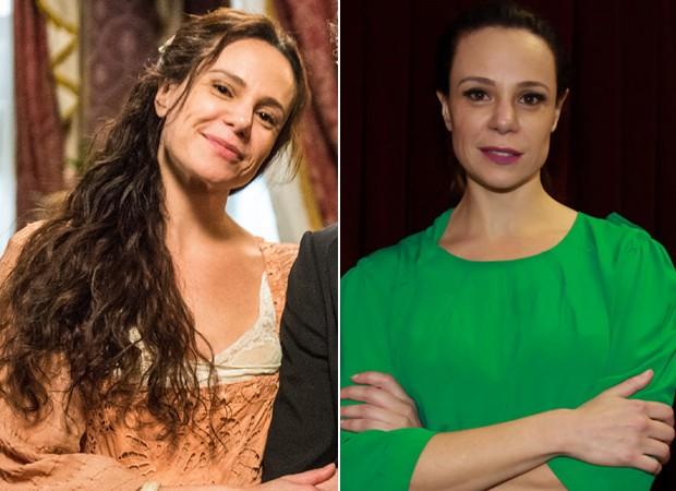 Vanessa Gerbelli irou o mehair após o fim de 'Novo Mundo' (Foto: Divulgação/TV Globo e Marcos Ribas/Brazil News)