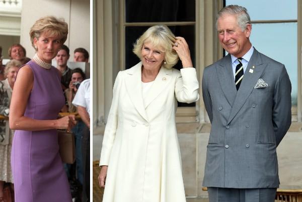 Lady Di, Camilla e o Príncipe Charles (Foto: Getty Images)