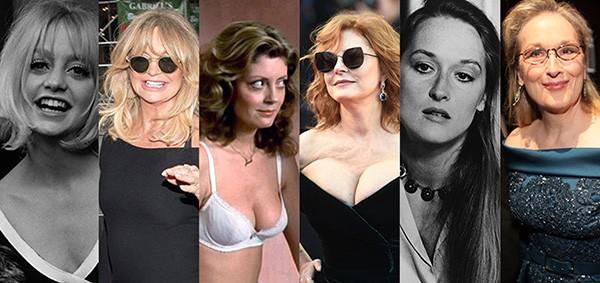 Goldie Hawn, Susan Sarandon, Meryl Streep (Foto: Getty Images)