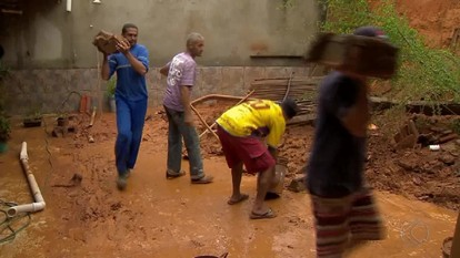Após forte chuva, Bombeiros registram ocorrências em cidades da Zona da Mata