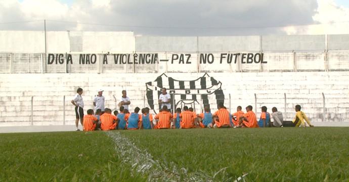 Treino União Barbarense (Foto: Pedro Santana/ EPTV)