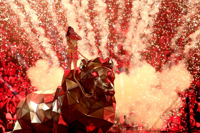 show katy perry super bowl 49 (Foto: Getty Images)