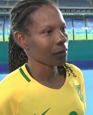 Formiga Brasil x China Rio 2016 (Foto: Reprodução/SporTV)