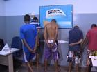 Polícia Militar detém quatro homens suspeitos de assaltos na Grande BH