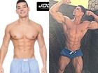 Felipe Franco mostra antes e depois de seu corpo, agora mais musculoso
